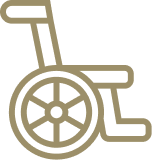 Accessible room icon