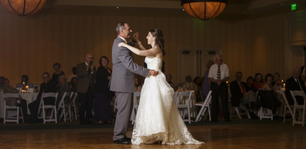 Deborah and Jame's first dance